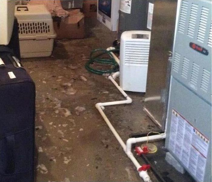 Sewage Flood in Home Before